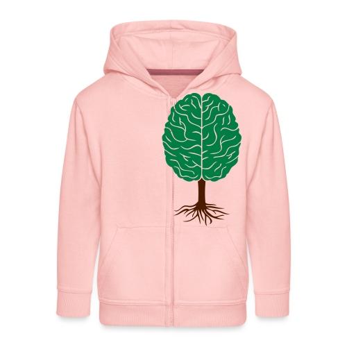 Brain tree - Kinderen Premium jas met capuchon