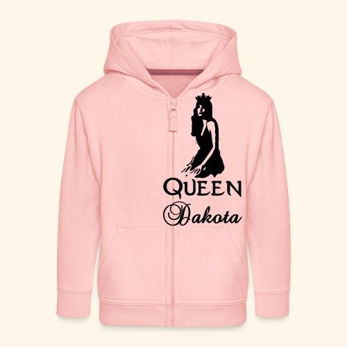 Queen Dakota - Kids' Premium Zip Hoodie