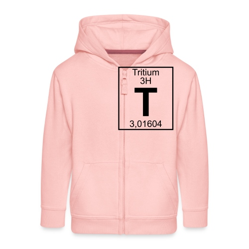 T (tritium) - Element 3H - pfll - Kids' Premium Hooded Jacket
