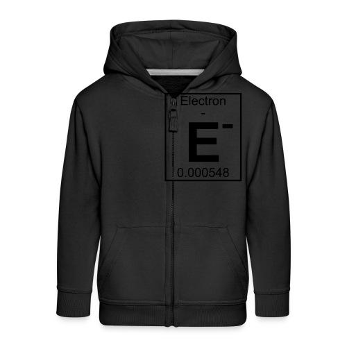 E (electron) - pfll - Kids' Premium Zip Hoodie