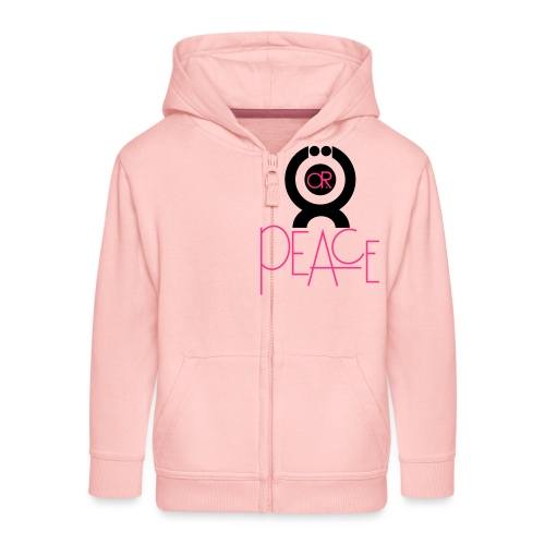 O.ne R.eligion O.R Peace - Veste à capuche Premium Enfant
