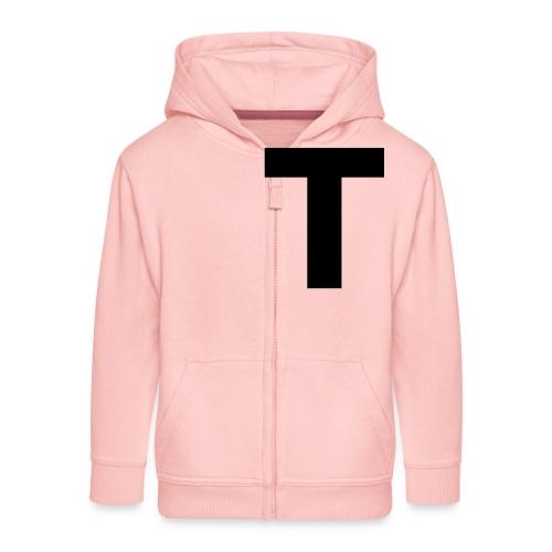 Tblack - Kinder Premium Kapuzenjacke