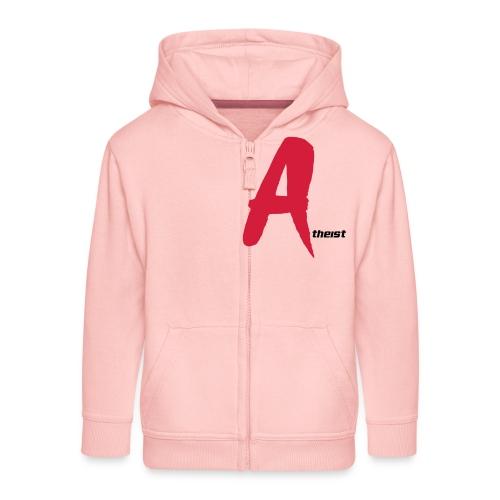 Big Red A Atheism Logo - Kids' Premium Zip Hoodie