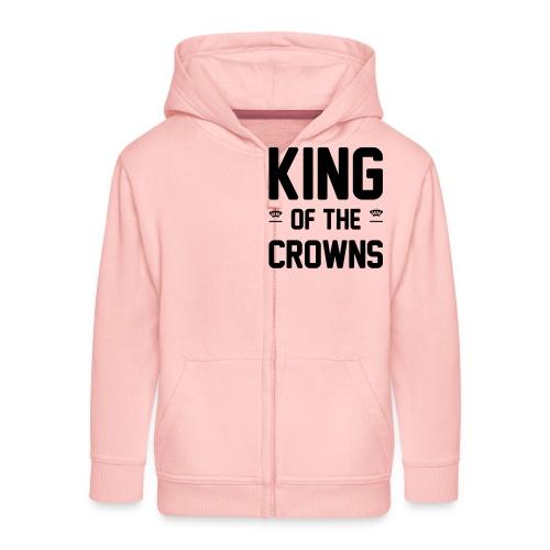 King of the crowns - Kinderen Premium jas met capuchon