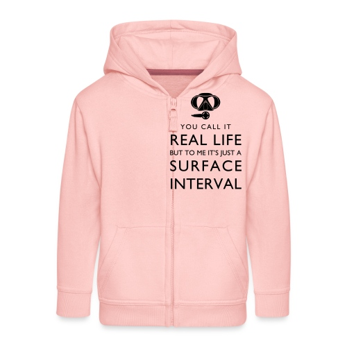 Real life vs surface interval - Kinder Premium Kapuzenjacke
