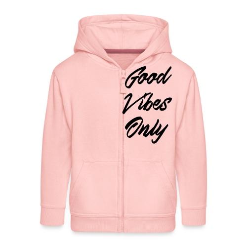 good vibes only - Veste à capuche Premium Enfant