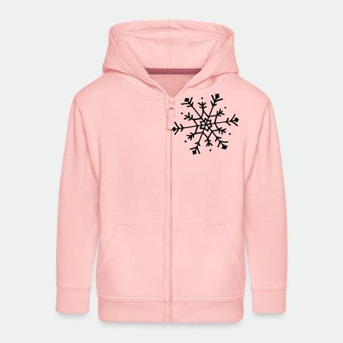Cute snowflake - Kids' Premium Zip Hoodie