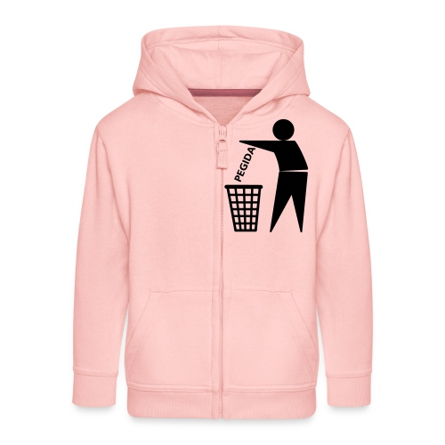 PEGIDA-in-the-Trash - Kinder Premium Kapuzenjacke
