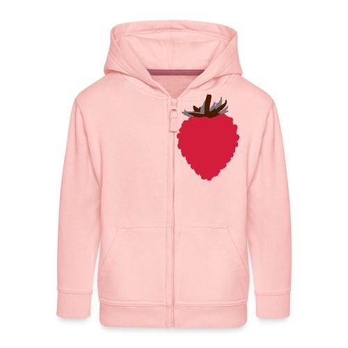 Wild Strawberry - Kids' Premium Zip Hoodie
