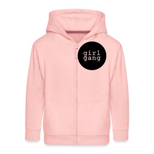Shirt/Body: Girl Gang - Kinder Premium Kapuzenjacke