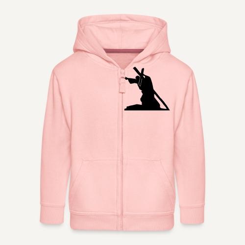 Sursum corda 3 - Rozpinana bluza dziecięca z kapturem Premium