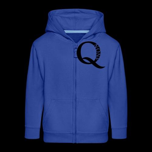 Q Anon Q-Anon Original Logo - Kinder Premium Kapuzenjacke