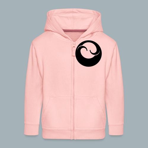 All Black Premium T-shirt - Kinderen Premium jas met capuchon