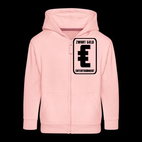 ZwartGeld Logo Sweater - Kinderen Premium jas met capuchon
