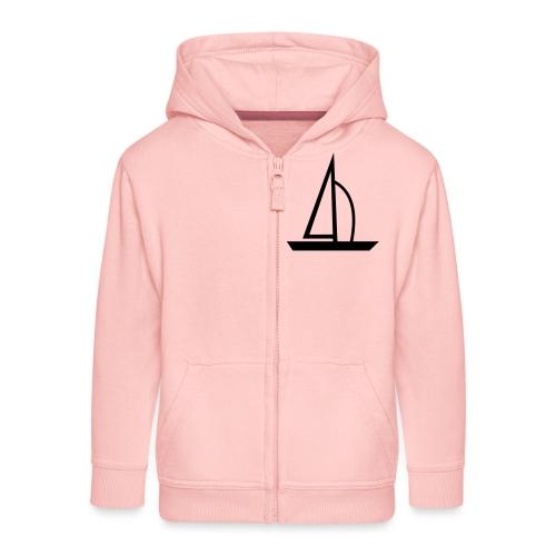 Segelboot - Kinder Premium Kapuzenjacke