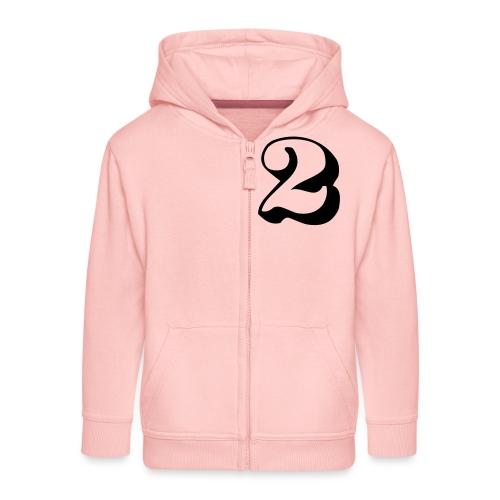 cool number 2 - Kinderen Premium jas met capuchon