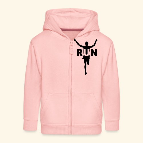 Run course à pied - Veste à capuche Premium Enfant