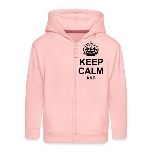 KEEP CALM - Kids' Premium Hooded Jacket