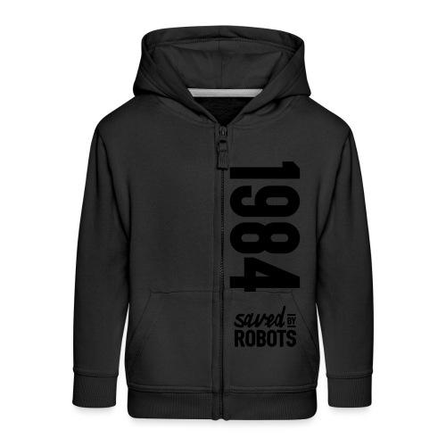 1984 / Saved By Robots Premium Tote Bag - Kids' Premium Zip Hoodie