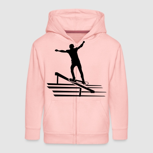 Skateboard - Kinder Premium Kapuzenjacke