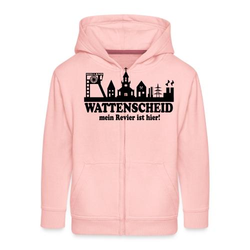 Skyline Wattenscheid - Mein Revier ist hier - Kinder Premium Kapuzenjacke