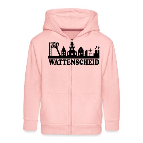Skyline Wattenscheid - Kinder Premium Kapuzenjacke