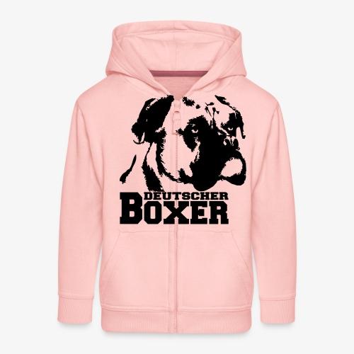 Deutscher Boxer - Kinder Premium Kapuzenjacke