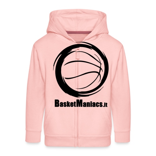 Basket Maniacs - Felpa con zip Premium per bambini
