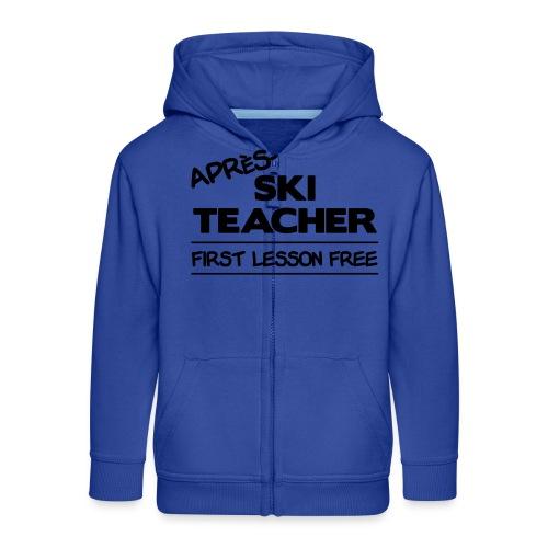 Apres ski teacher - Kinder Premium Kapuzenjacke