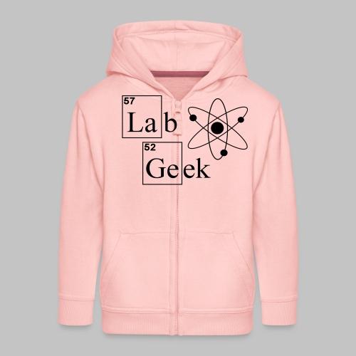 Lab Geek Atom - Kids' Premium Zip Hoodie