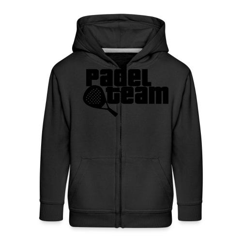 Padel team - Chaqueta con capucha premium niño