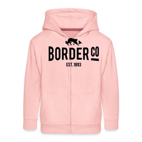 Border Co - Veste à capuche Premium Enfant