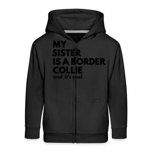 MSB_TEE_SISTER - Veste à capuche Premium Enfant