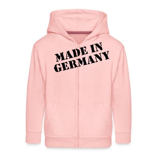 MADE IN GERMANY - Kinder Premium Kapuzenjacke