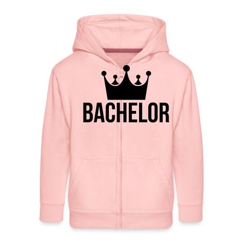 bachelor king - Kinderen Premium jas met capuchon
