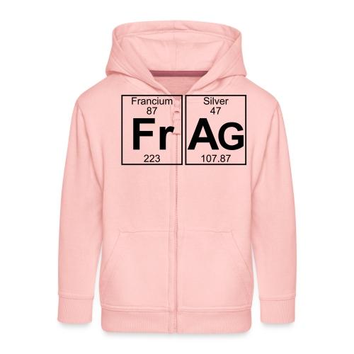 Fr-Ag (frag) - Full - Kids' Premium Zip Hoodie