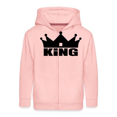 I'm the King - Veste à capuche Premium Enfant