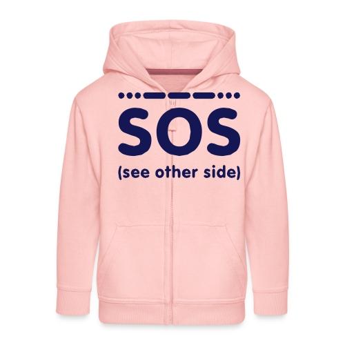 SOS - Kinderen Premium jas met capuchon