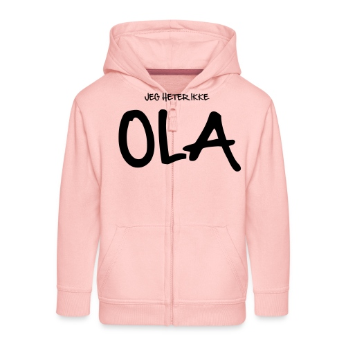 Jeg heter ikke Ola (fra Det norske plagg) - Premium Barne-hettejakke