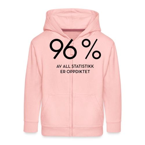 Statistikk-sprøyt (fra Det norske plagg) - Premium Barne-hettejakke