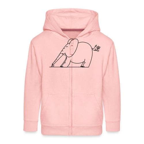 (eleftshirt) - Veste à capuche Premium Enfant