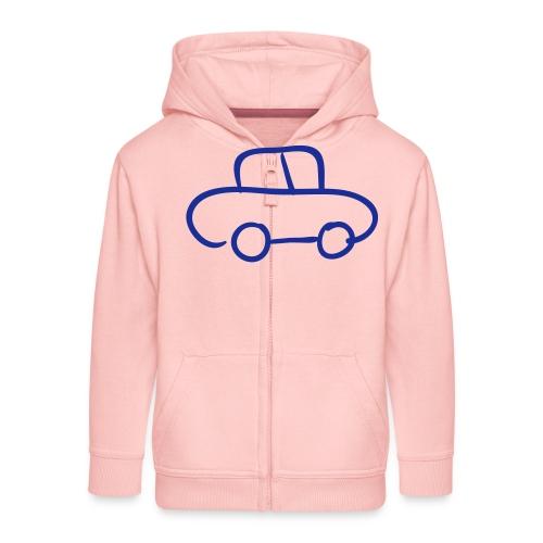 Van Line Drawing Pixellamb - Kinder Premium Kapuzenjacke