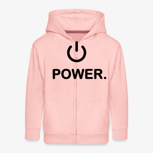 power - Veste à capuche Premium Enfant