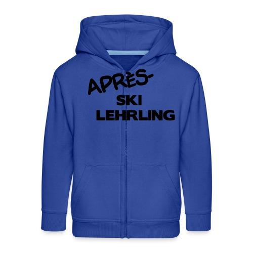 Après Ski Lehrling, Winter Shirt - Kinder Premium Kapuzenjacke