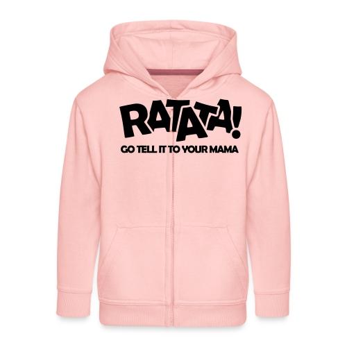 RATATA full - Kinder Premium Kapuzenjacke