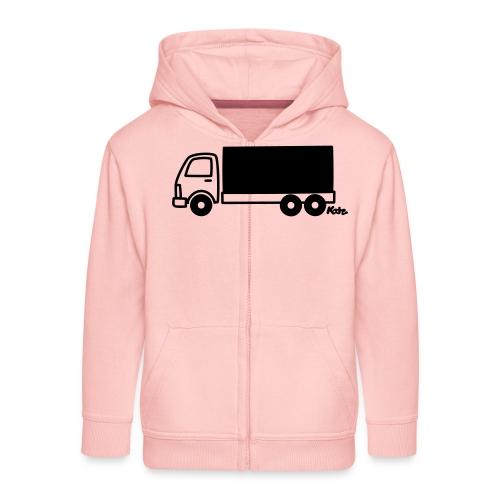 LKW lang - Kinder Premium Kapuzenjacke