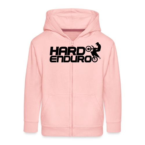 Hard Enduro Biker - Kinder Premium Kapuzenjacke