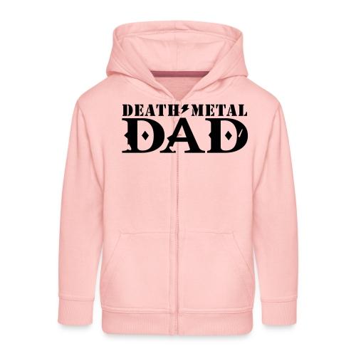death metal dad - Kinderen Premium jas met capuchon