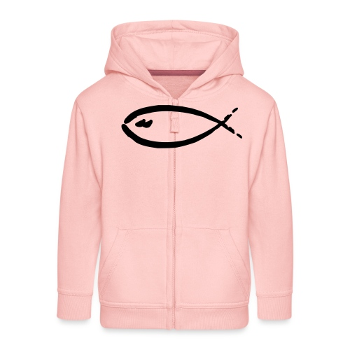 fish - Kinder Premium Kapuzenjacke