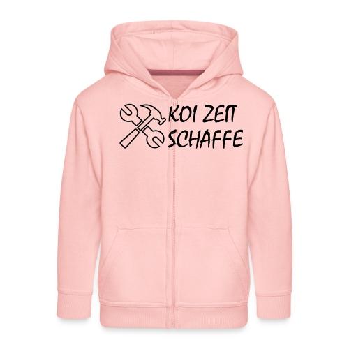 KoiZeit - Schaffe - Kinder Premium Kapuzenjacke